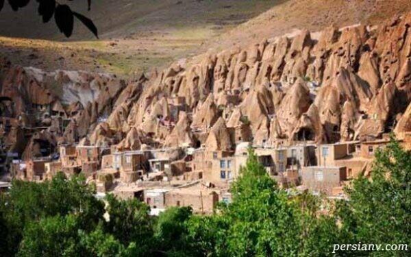 طبیعت بی نظیر روستای صخره های ایران