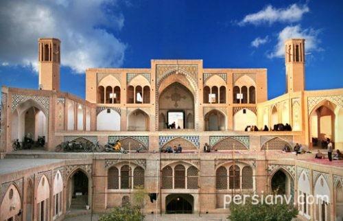 بناهای تاریخی در کاشان