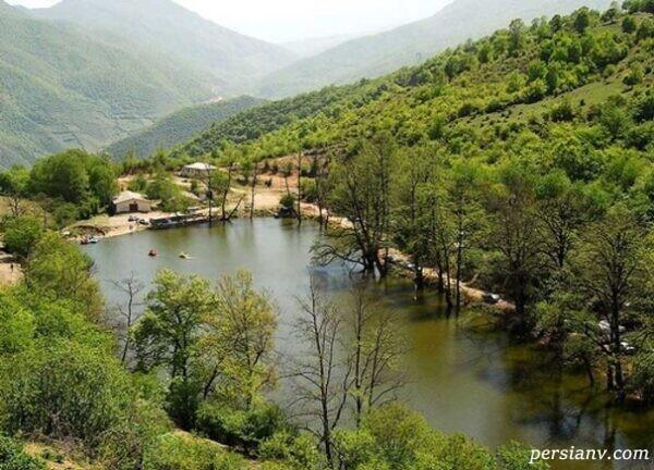 زیباترین دریاچه های طبیعی ایران
