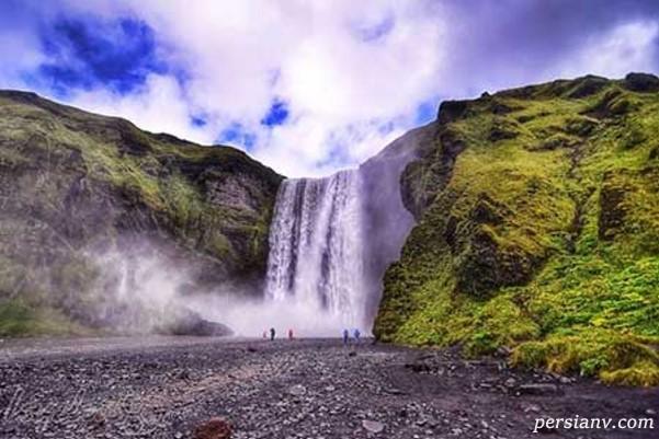مناظر طبیعی بسیار شگفت انگیز در ایسلند