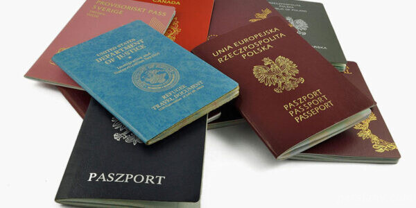 علت رنگ پاسپورت