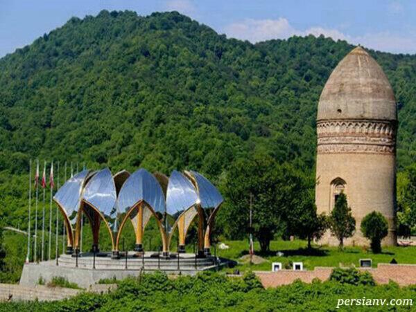 برج لاجیم در مازندران