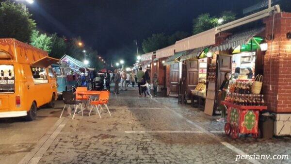 رستوران های خیابانی