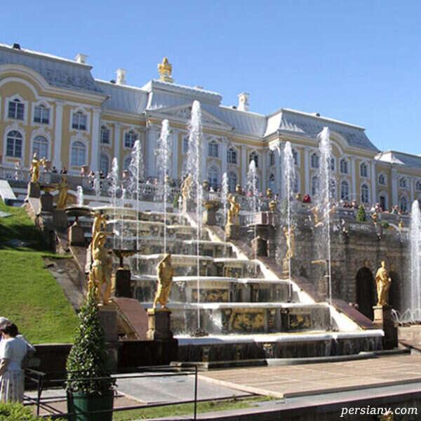باغ پترهوف روسیه