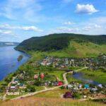 رودخانه ای سنگی بسیار دیدنی در روسیه