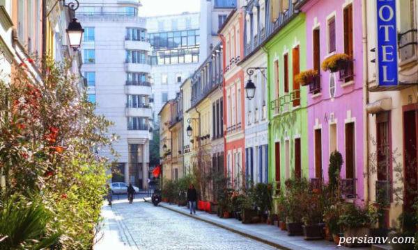زیباترین خیابانهای پاریس