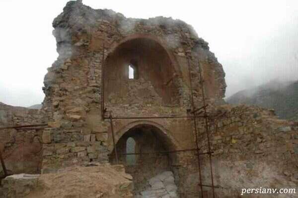 قلعه کنگلو در مازندران