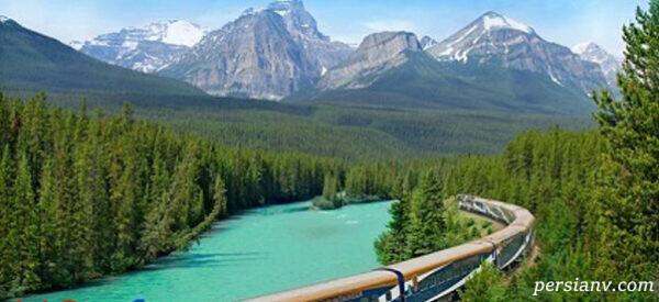 مسیر کوه راکی در کانادا