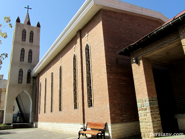 گشت و گذاری در کلیسای ننه مریم ارومیه +تصاویر