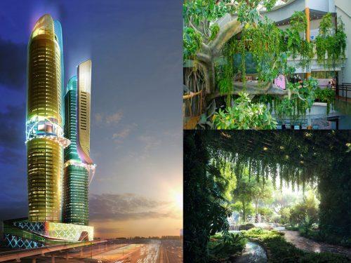 هتل جنگلی در دبی