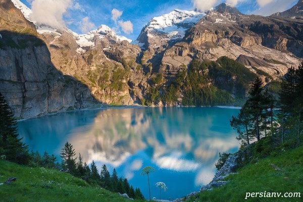زیباترین و پربازدیدترین مکان های تابستانی سوئیس +تصاویر
