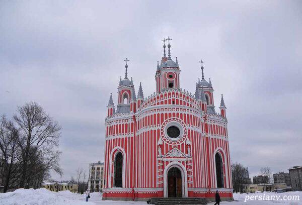 زیباترین کلیساهای دنیا در سن پترزبورگ ببینید +تصاویر