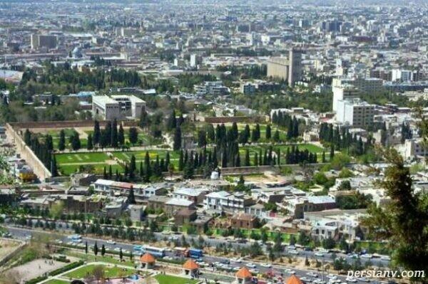 زیباییهای شیراز