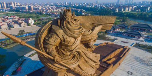 مجسمه عظیم در چین