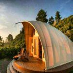 چادر مسافرتی که امکانات هتل ۵ ستاره را دارد