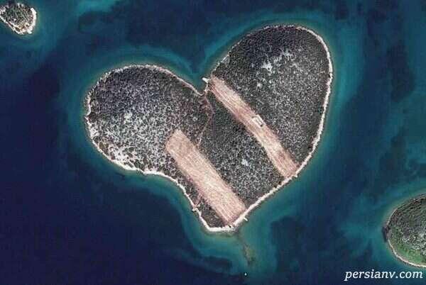 جزیره هایی به شکل قلب