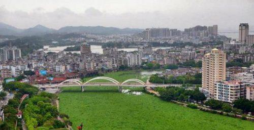 رودخانه گیاهی در چین