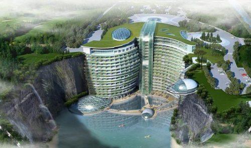 هتل زیرزمینی چین