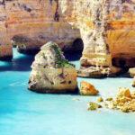 الگاروه مشهورترین ساحل پرتغال با چشم اندازی بسیار زیبا