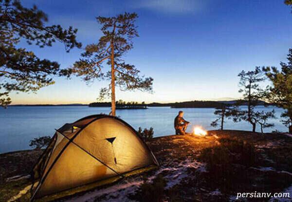 به جای چادر مسافرتی خانه را برای سفر با خود ببرید