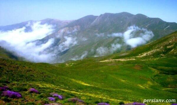 یکی از شاهکارهای خلقت را در روستای بسیار زیبا و دیدنی گرسماسر خواهید دید +تصاویر