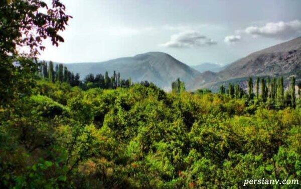 جلوه های شگفتانگیز طبیعت را در روستای زیبا و دیدنی کندلوس ببینید