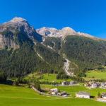 زیباترین دهکده با چشم اندازهایی باور نکردنی در سوییس