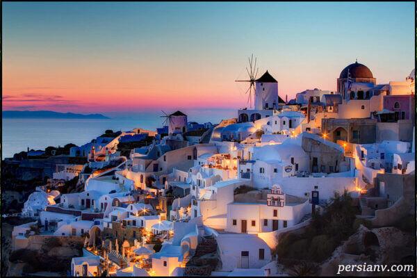 زیباترین کشورها برای سفر