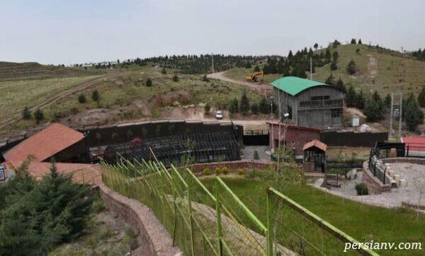 پارک جنگلی باراجین در قزوین