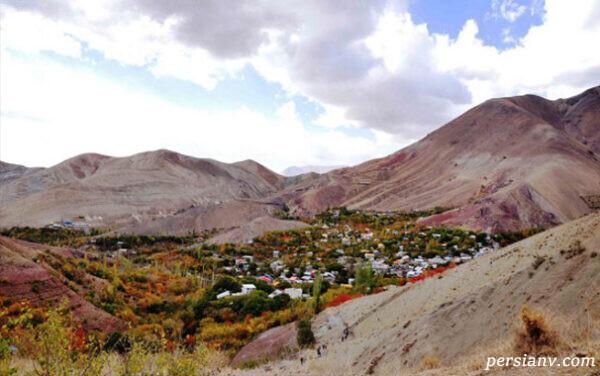 روستای زیبای برگ جهان