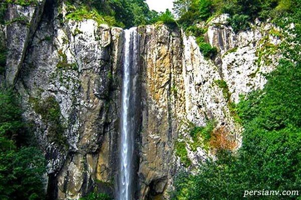 شاهاندشت بلندترین آبشار استان مازندران با طبیعتی دیدنی +تصاویر