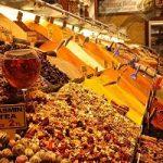گشتی در بازاردیدنی ادویه در استانبول+تصاویر