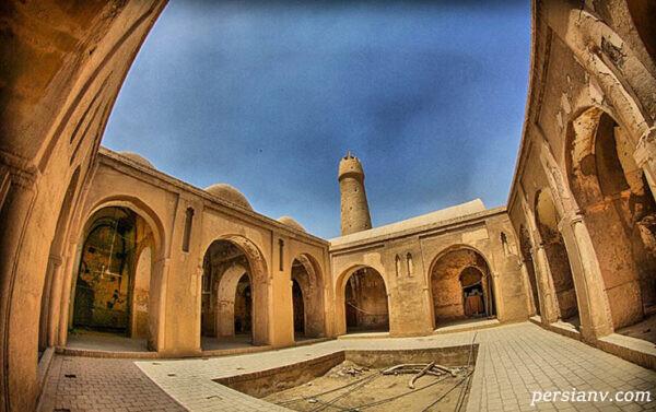 مسجد روستای فهرج