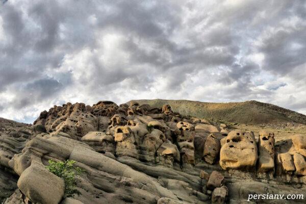 طبیعت خاص و دیدنی روستای وردیج