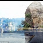 پل شیشه ای ترسناک دیگر باز هم ساخت چینی ها+تصاویر