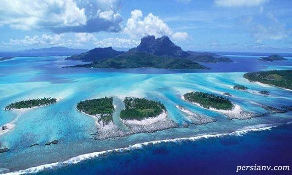 جزیره ی مرجانی ماتاویا جاذبه ای بی نهایت زیبا در فرانسه+تصاویر