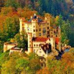 خارق العاده ترین قلعه های جهان در میان زیبایی های طبیعت +تصاویر