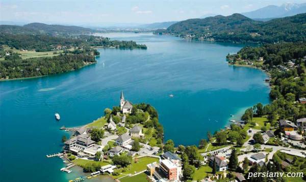 زیباترین دریاچه های اتریش با چشم اندازهای باورنکردنی