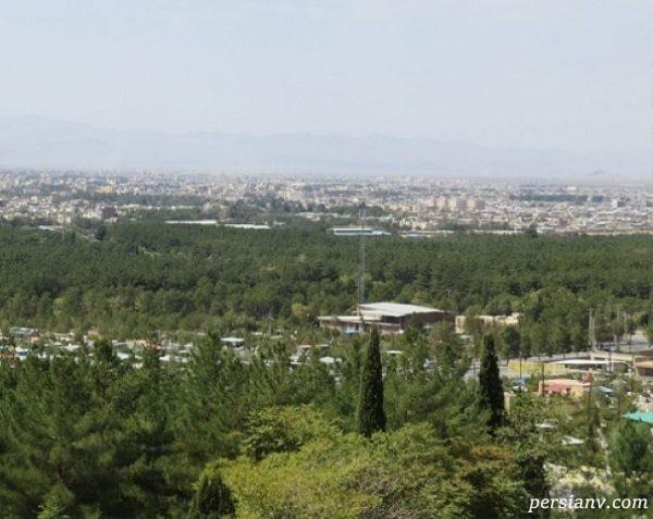 پارک جنگلی قائم کرمان با طبیعت زیبا مکانی مناسب برای طبیعتگردی+تصاویر