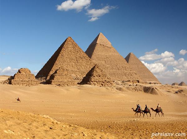 اهرام ثلاثهی مصر و اسرار آن