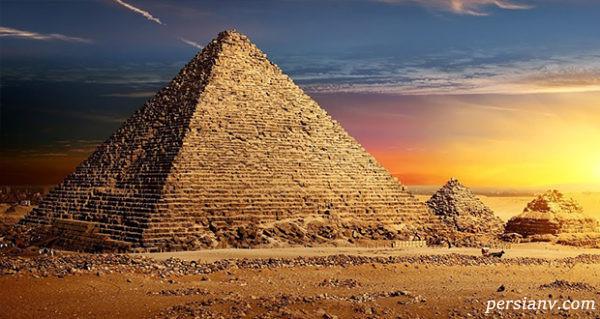 اهرام مصر یکی از عجایب هفتگانه دنیا