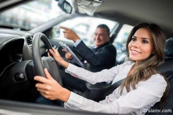 ایمنی و سلامت راننده و سرنشینان هنگام سفر