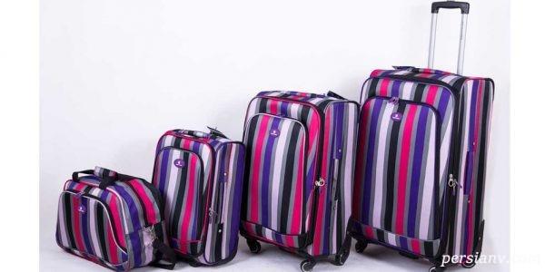 ترفندهای بستن چمدان