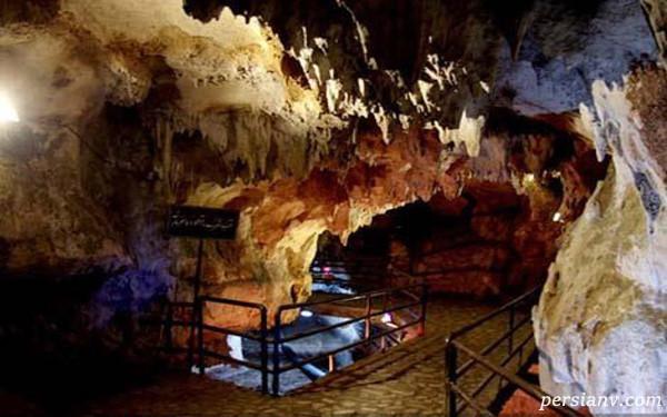 غار قوری قلعه بسیار دیدنی کرمانشاه