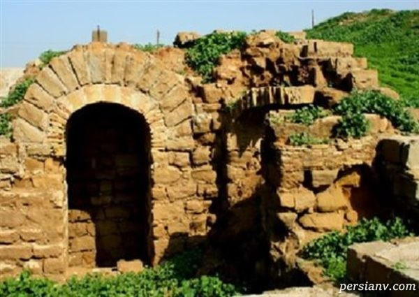 قلعه سلاسل شوشتر یک دژ بسیار بزرگ بازمانده از تاریخ کهن ایران