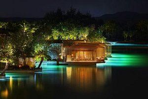 هتل مجلل با اقیانوس خصوصی در چین+تصاویر