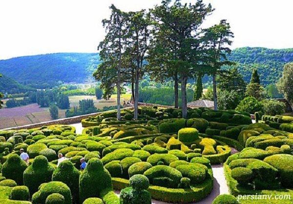 باغ های قصر مارکیزی