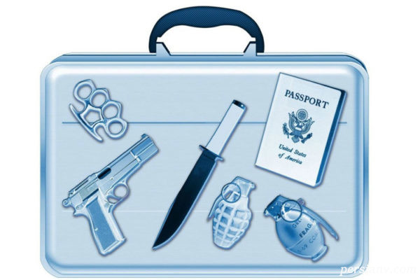 بستن چمدان برای مسافرت