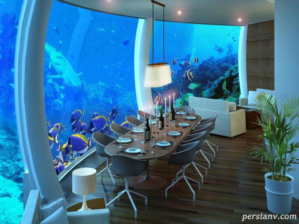 رستوران زیر دریایی