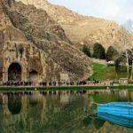 طاق بستان جاذبه معروف کرمانشاه + تصاویر